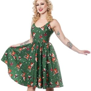 Deer Me Sweets Pine Dress
